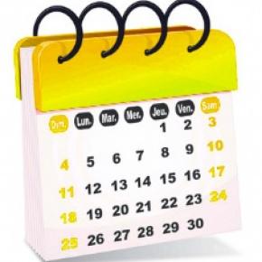 Calendario attività parrocchiale nov. - dic. 2018